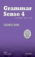 Grammar Sense: 4: Teacher's Book with Online Practice Access Code Card