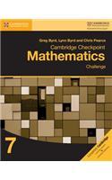 Cambridge Checkpoint Mathematics Challenge Workbook 7