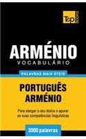 Vocabulário Português-Arménio - 3000 Palavras Mais �teis