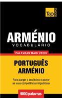 Vocabulário Português-Arménio - 9000 Palavras Mais �teis