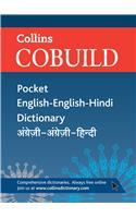 Collins Cobuild Pocket English-English-Hindi Dictionary