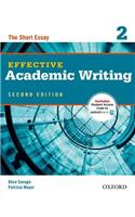 Effective Academic Writing Second Edition: 2: Student Book