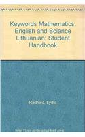 Keywords Mathematics, English and Science Lithuanian: Student Handbook