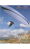 College Physics, Student Solutions Manual & Study Guide, Volume 1