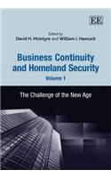 Business Continuity and Homeland Security