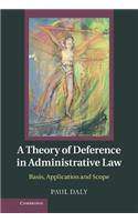 Theory of Deference in Administrative Law