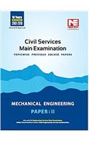 Civil Services Mains Exam: Mechanical Engineering Solved Papers - Vol 2