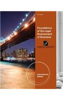 Foundations of the Legal Environment of Business, International Edition