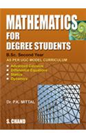 Mathematics For Degree Students: for B. Sc - II Year