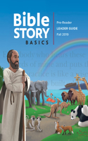 Bible Story Basics Pre-Reader Leader Guide Fall 2019