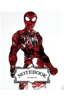 Notebook: Watercolor Spiderman V.1: Pocket Notebook Journal Diary, 120 Pages, 8 X 10 (Notebook Lined, Blank No Lined)