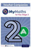 MyMaths for Key Stage 3: Teacher Companion 2A