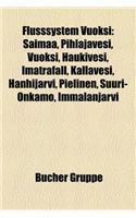 Flusssystem Vuoksi: Saimaa, Pihlajavesi, Vuoksi, Haukivesi, Imatrafall, Kallavesi, Hanhijarvi, Pielinen, Suuri-Onkamo, Immalanjarvi