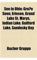 See in Ohio: Grosse Seen, Eriesee, Grand Lake St. Marys, Indian Lake, Guilford Lake, Sandusky Bay
