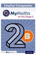 MyMaths for Key Stage 3: Teacher Companion 2B
