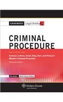 Criminal Procedure: Kamisar Lafave Israel King Kerr & Primus 13e