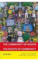 The Community Of Rights: The Rights Of Community