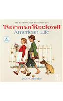 Norman Rockwell American Life 2020 Wall Calendar