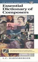 ESSENTIAL DICTIONARY OF COMPOSERS HG