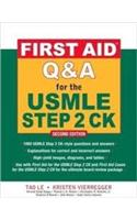 First Aid Q&A For The Usmle Step 2 Ck(Ie)