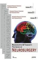 Ramamurthi and Tandon's Textbook of Neurosurgery 3 Vol Set