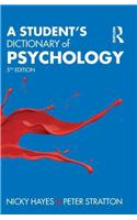 Student's Dictionary of Psychology
