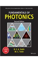 Fundamentals Of Photonics, 2Ed (Exclusively Distributed By Cbs Publishers & Distributors Pvt. Ltd.)