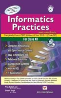Informatics Practices (W/CD) - CBSE Syllabus …For Class XII