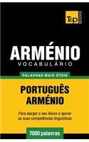 Vocabulário Portuguès-Arménio - 7000 Palavras Mais �teis