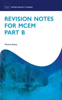 Revision Notes for MCEM Part B