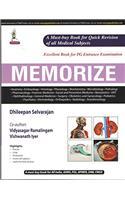 Memorize: For PG Entrance Examination