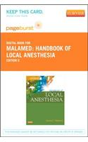 Handbook of Local Anesthesia - Elsevier eBook on Vitalsource (Retail Access Card)