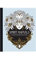 Spirit Animals Coloring Book: Published in Sweden as