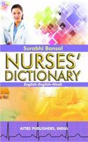 Nurses Dictionary English-English-Hindi,