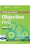 Objective First Workbook without Answers with Audio CD