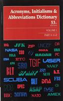 Acronyms, Initialisms, and Abbreviations Dictionary: 11 Volume Set: A Guide to Acronyms, Abbreviations, Contractions, Alphabetic Symbols, and Similar Condensed Appellations