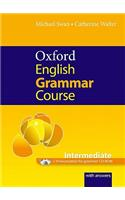 Oxford English Grammar Course: Intermediate: with Answers CD