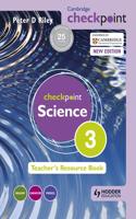 Cambridge Checkpoint Science Teacher's Resource Book 3