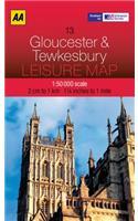 Leisure Map Gloucester & Tewkesbury