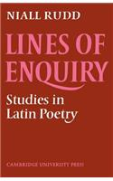 Lines of Enquiry: Studies in Latin Poetry