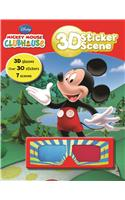 3d Sticker Scene - Mickey Mouse Club House