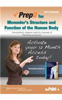 PrepU for Memmler's Structure and Function of the Human Body Access Code