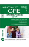 GRE Reading Comprehension & Essays