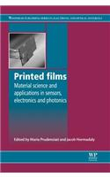 Printed Films: Materials Science and Applications in Sensors, Electronics and Photonics