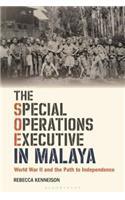 SPECIAL OPERATIONS EXECUTIVE MALAYA