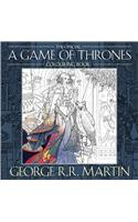Official A Game of Thrones Colouring Book