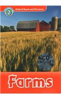 Oxford Read and Discover: Level 2: Farms Audio CD Pack