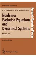 Nonlinear Evolution Equations and Dynamical Systems: Needs '90