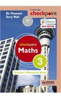Cambridge Checkpoint Maths Teacher's Resource Book 3