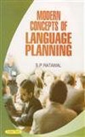 Modern Concepts Of Language Planning